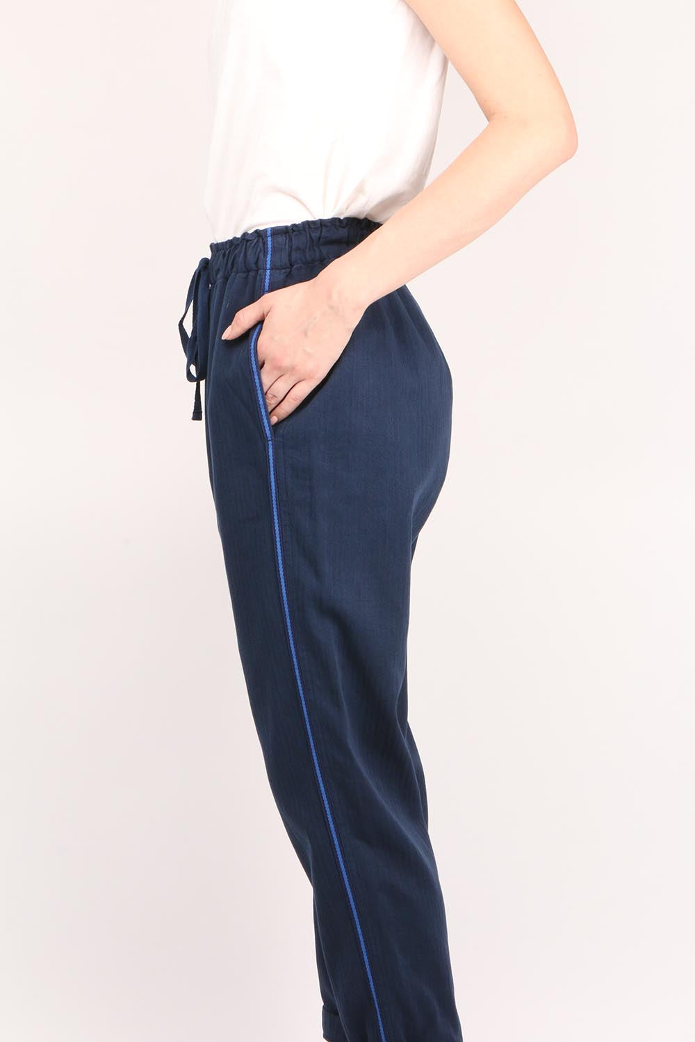 Rex Pants Navy Tide