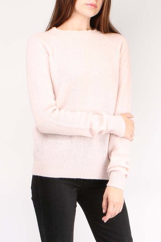 Feather Sweater Blush
