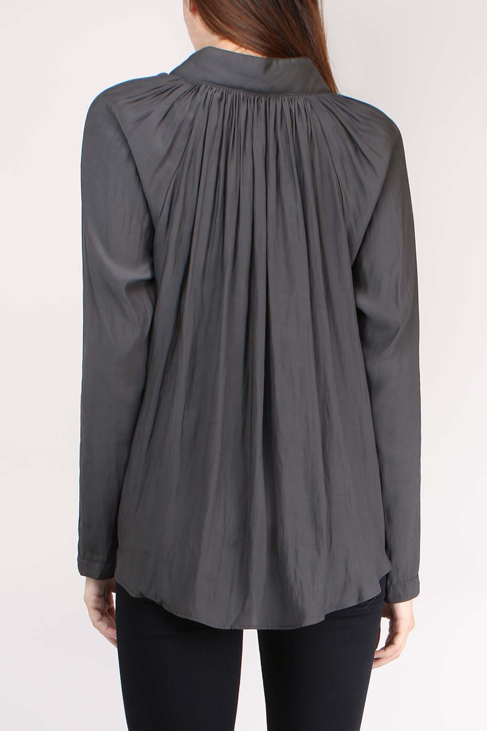 Gathered Blouse