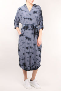 Byron Indigo Shirt Dress
