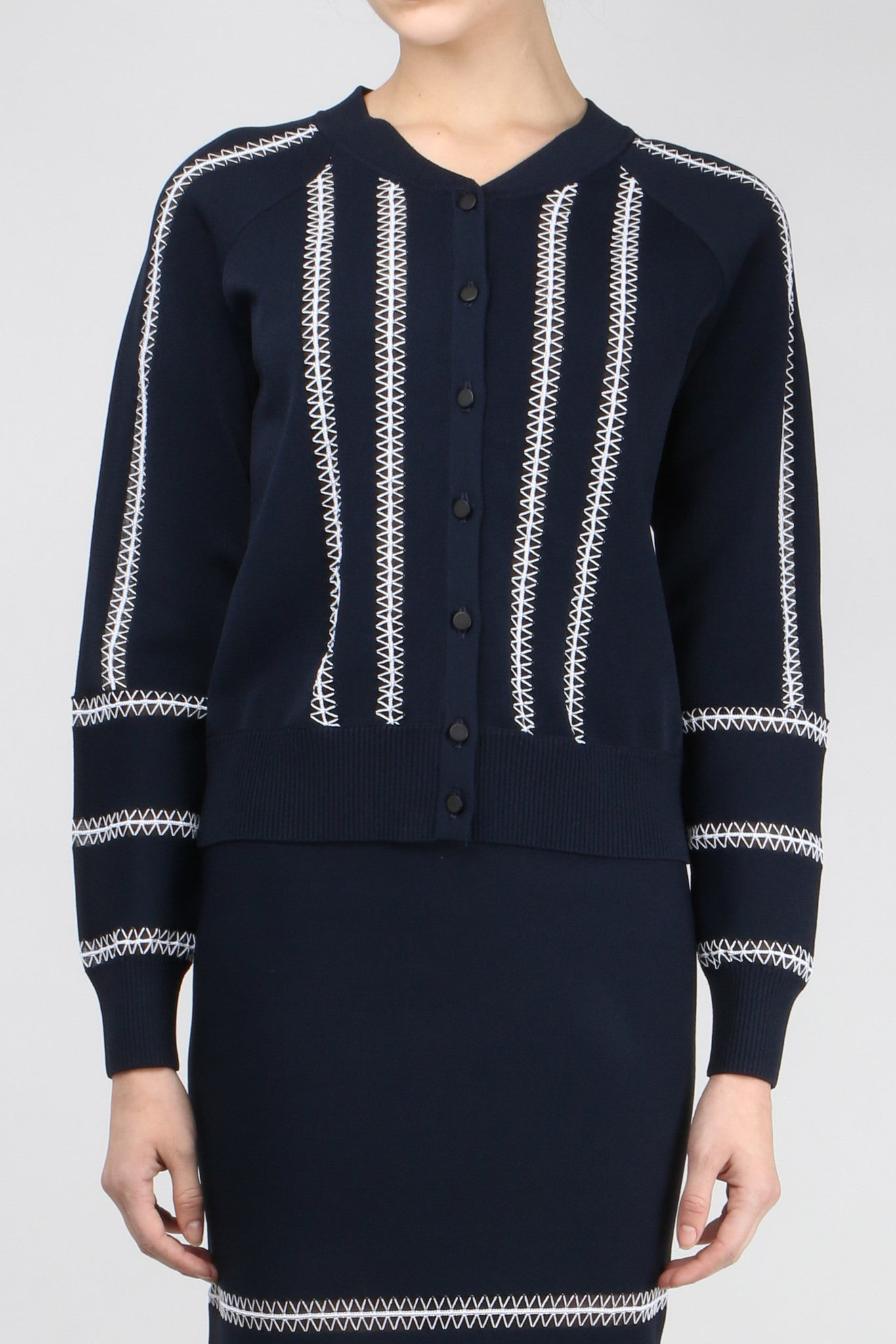 Jonathan Simkhai Tower Trim Cardigan