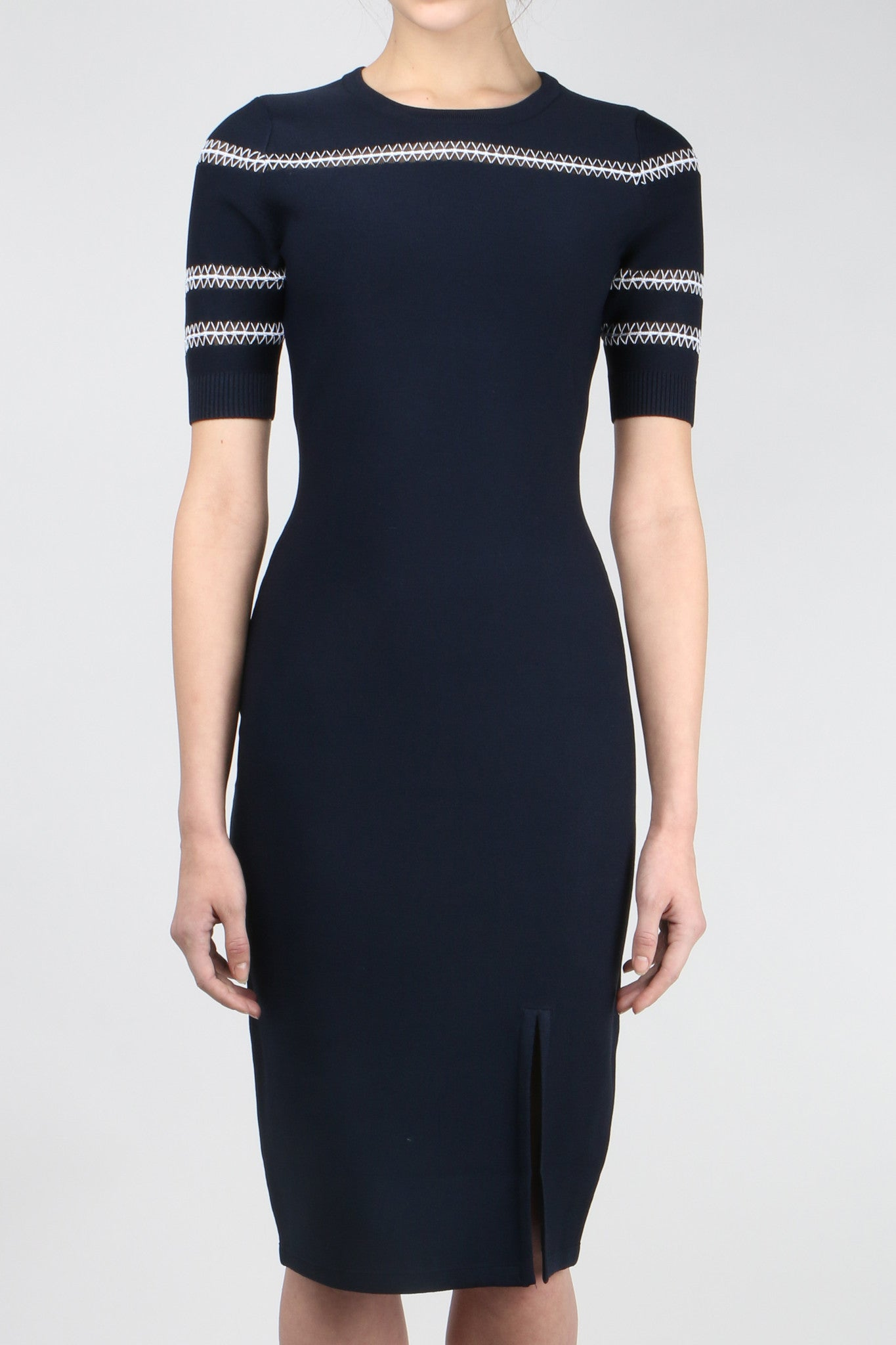Jonathan Simkhai Tower Trim Tee Dress