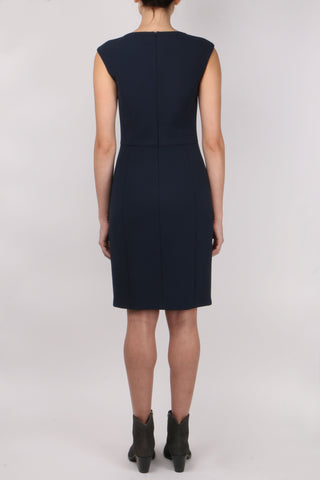 High V Neck Sleeveless Dress
