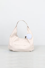 Stitch and Tickle Medium Slouch Bag in Oyster