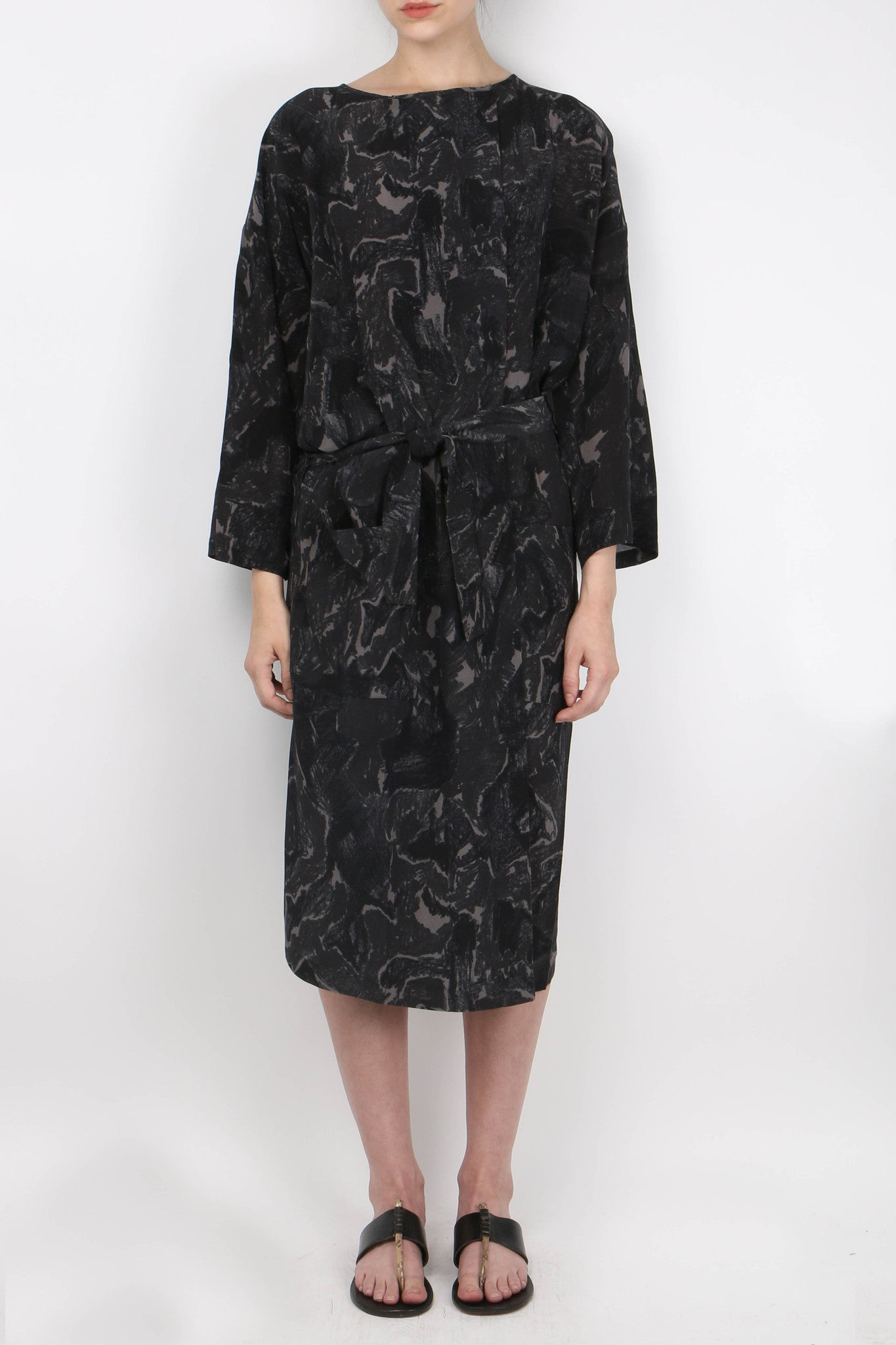 Humanoid Silk Soly Dress Front