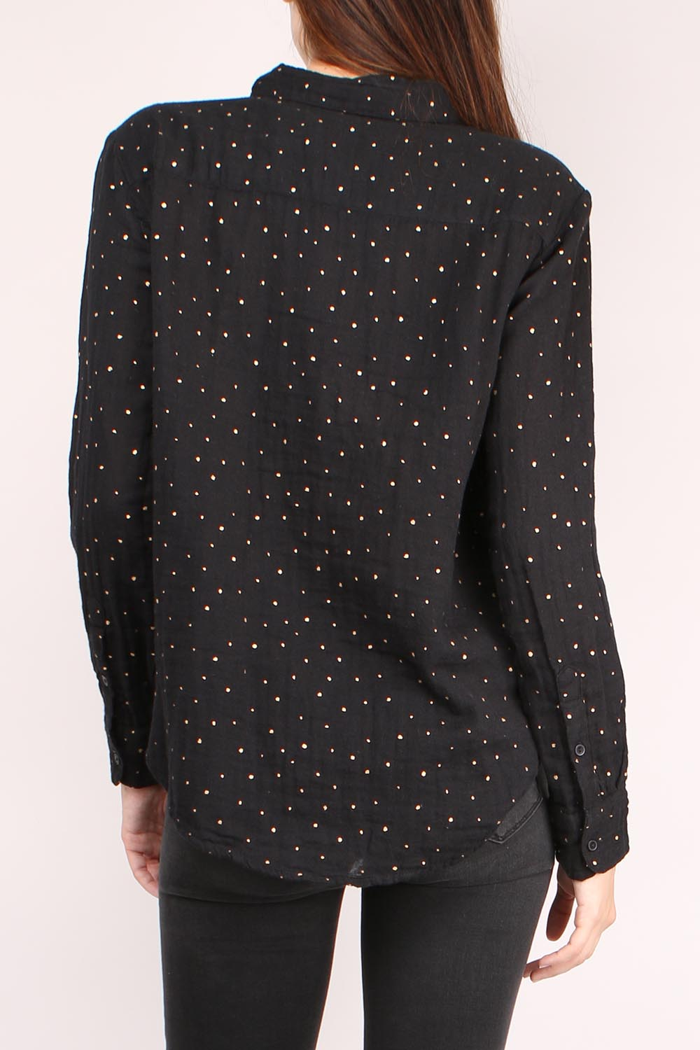 Classic Dots Button Down