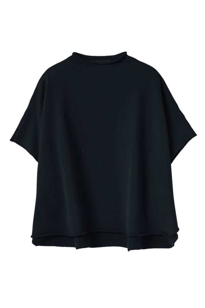Funnel Neck Navy Capelet