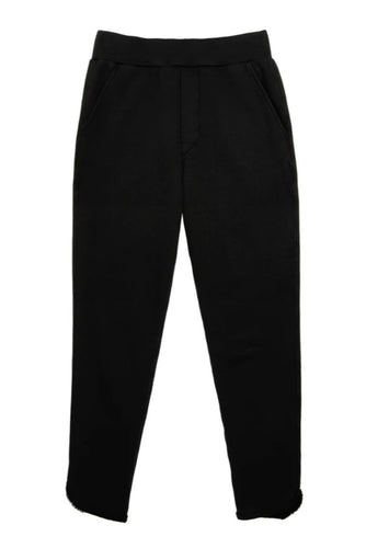 Tulip Ankle Black Sweatpant
