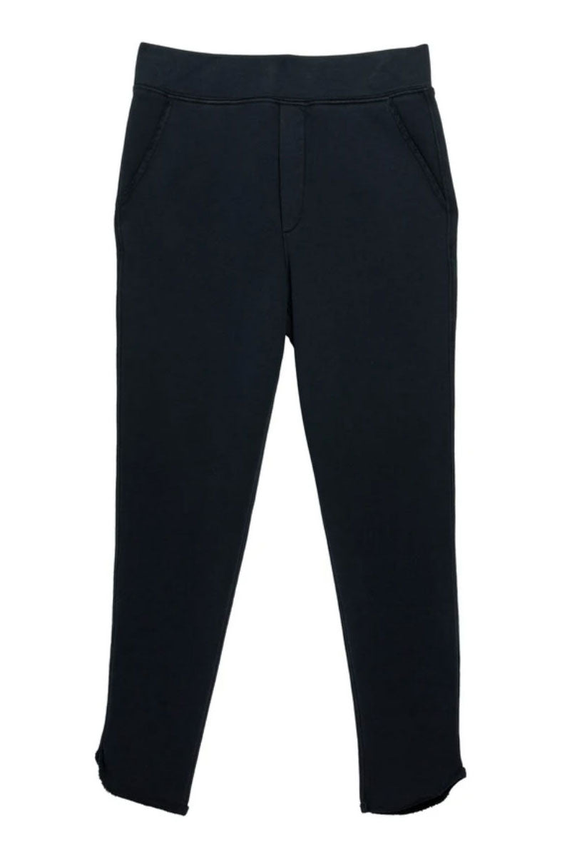 Tulip Ankle Navy Sweatpant