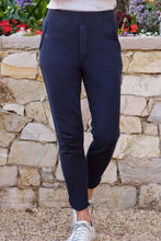 Load image into Gallery viewer, Tulip Ankle Navy Sweatpant