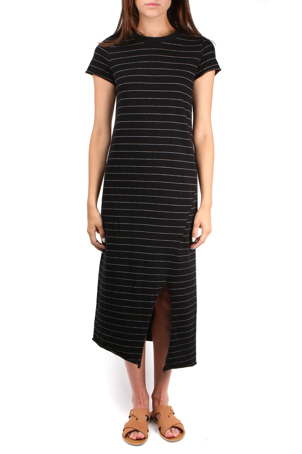 Asymmetric Tee Dress