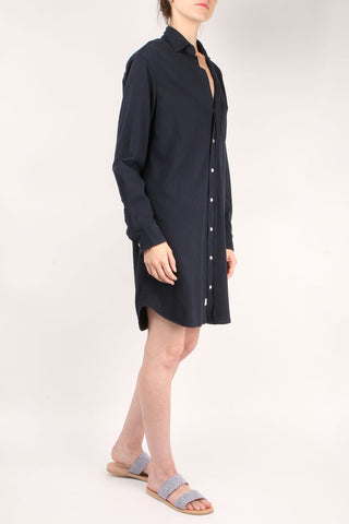 Relaxed Button Down Shirt Dress