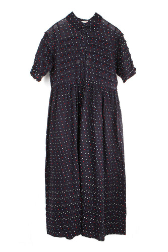 The Embroidered Dot Terrace Dress