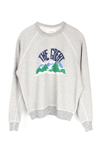 The College Sweatshirt W/ Mountain Side