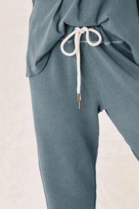 Cropped Gaucho Blue Sweatpant