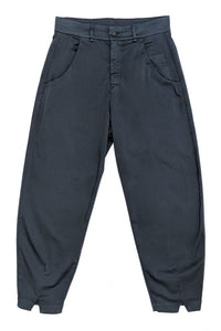 Cotton Trousers Blue