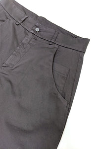 Cotton Trousers Black