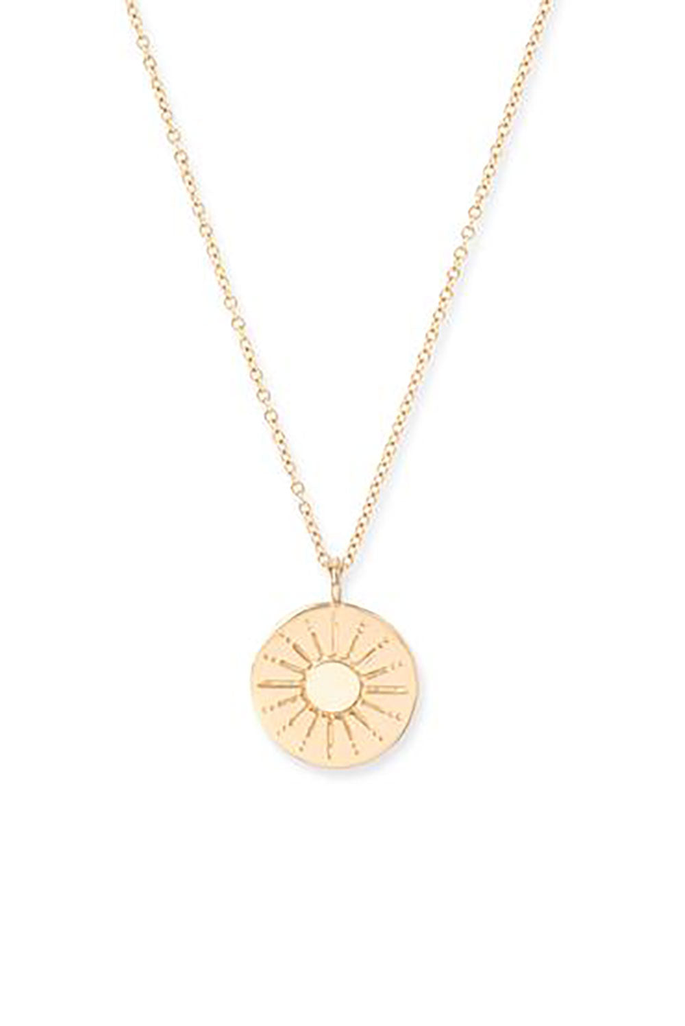 Talisman Sun Necklace