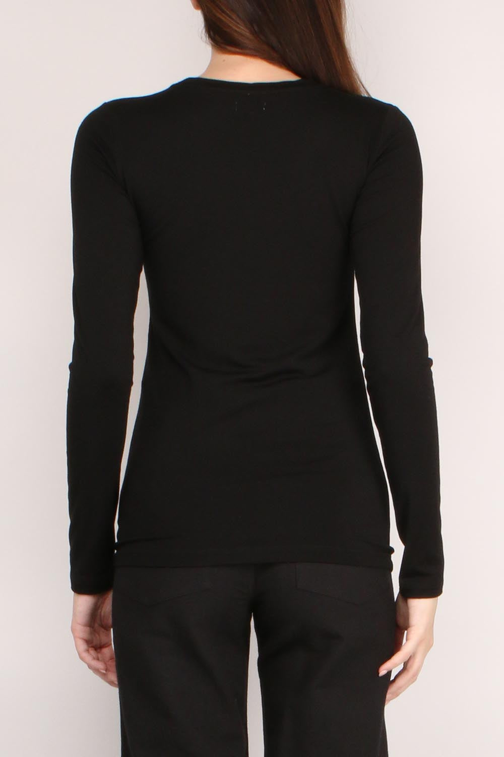 Tess Crew Neck Long Sleeve
