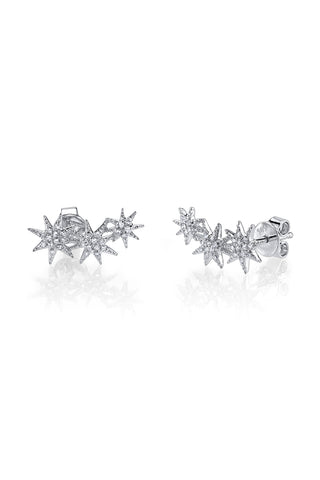 Gabriela Artigas Prong Earrings - Black Diamond/14K Yellow Gold jbGP8o
