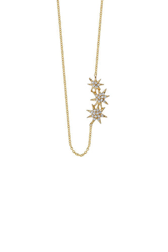 Gabriela Artigas Triple Star Necklace