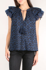 Elm Midnight Floral Top