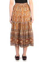 Load image into Gallery viewer, Thea Ochre Skirt
