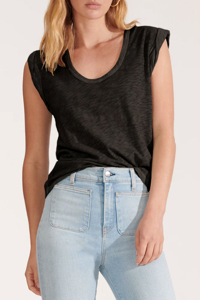 Arion Charcoal Muscle Tee