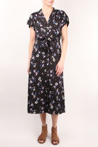 Amani Black Multi Dress