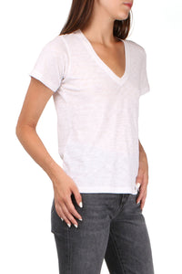 Casey White V-Neck