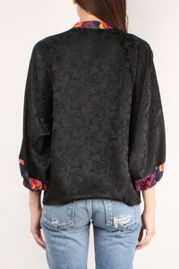 Love Street Black Blouse