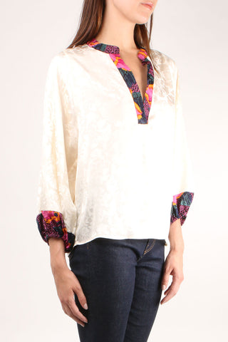 Love Street Ivory Blouse