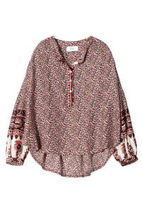 Huntley Henna Top