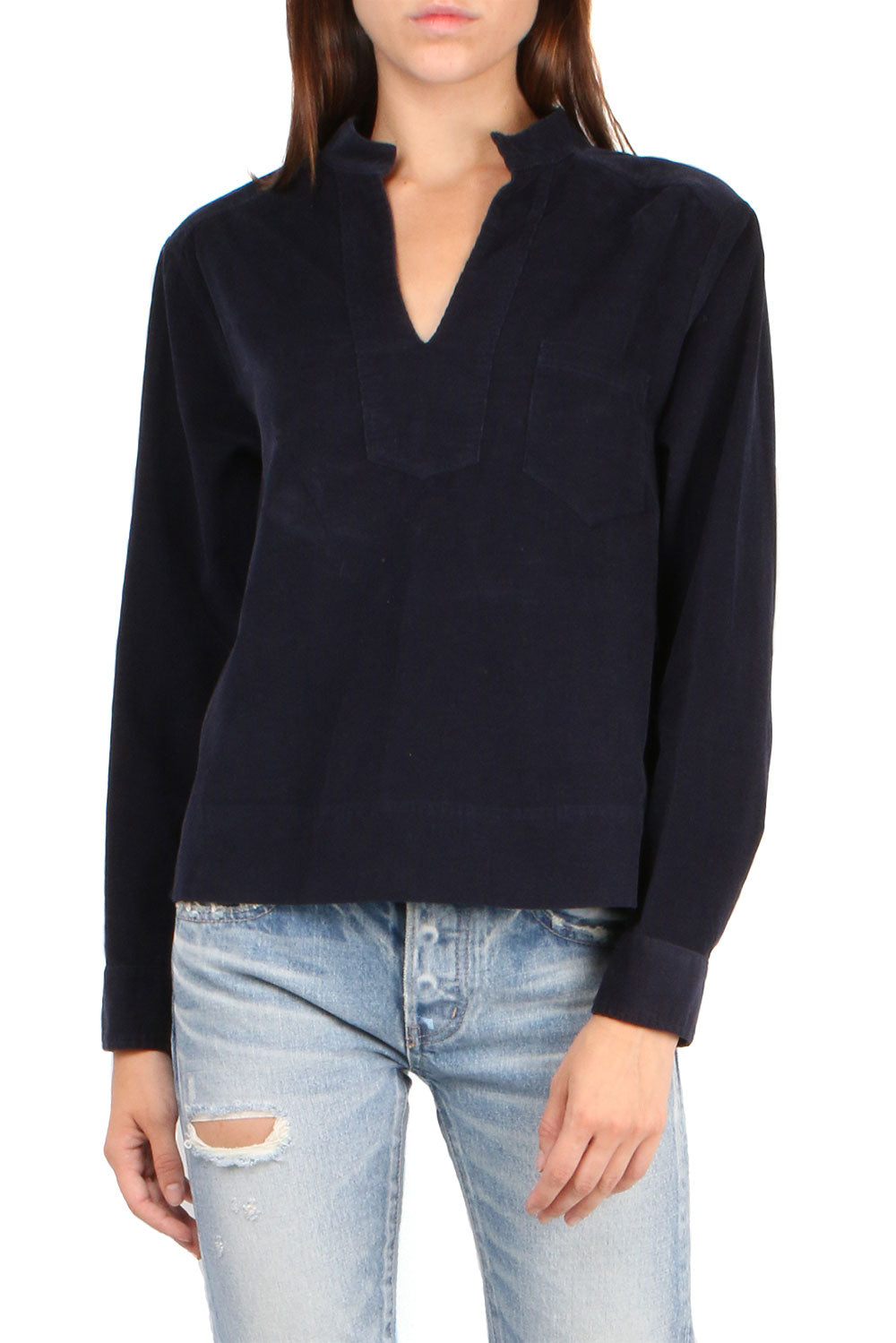 Morely Top Navy