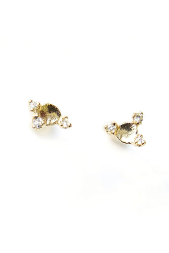 Diamond Meteor Earrings