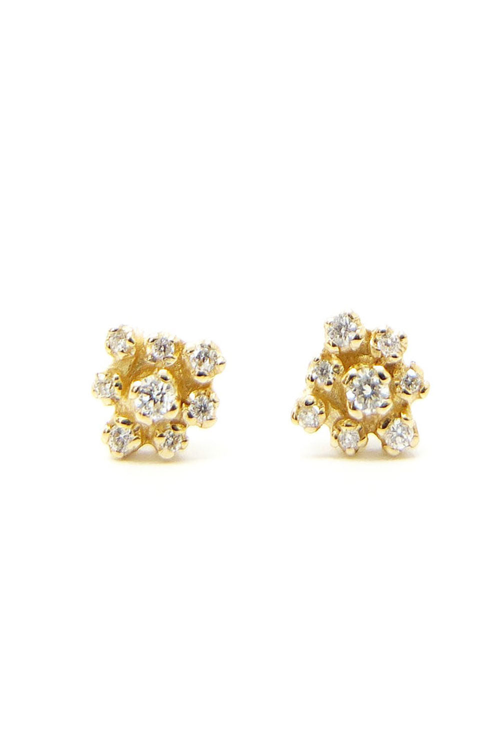 Round Cluster Earring