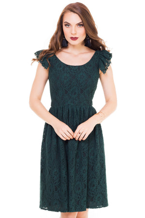 Rochie Carly Verde