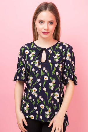 Top Darielle Print Lovely