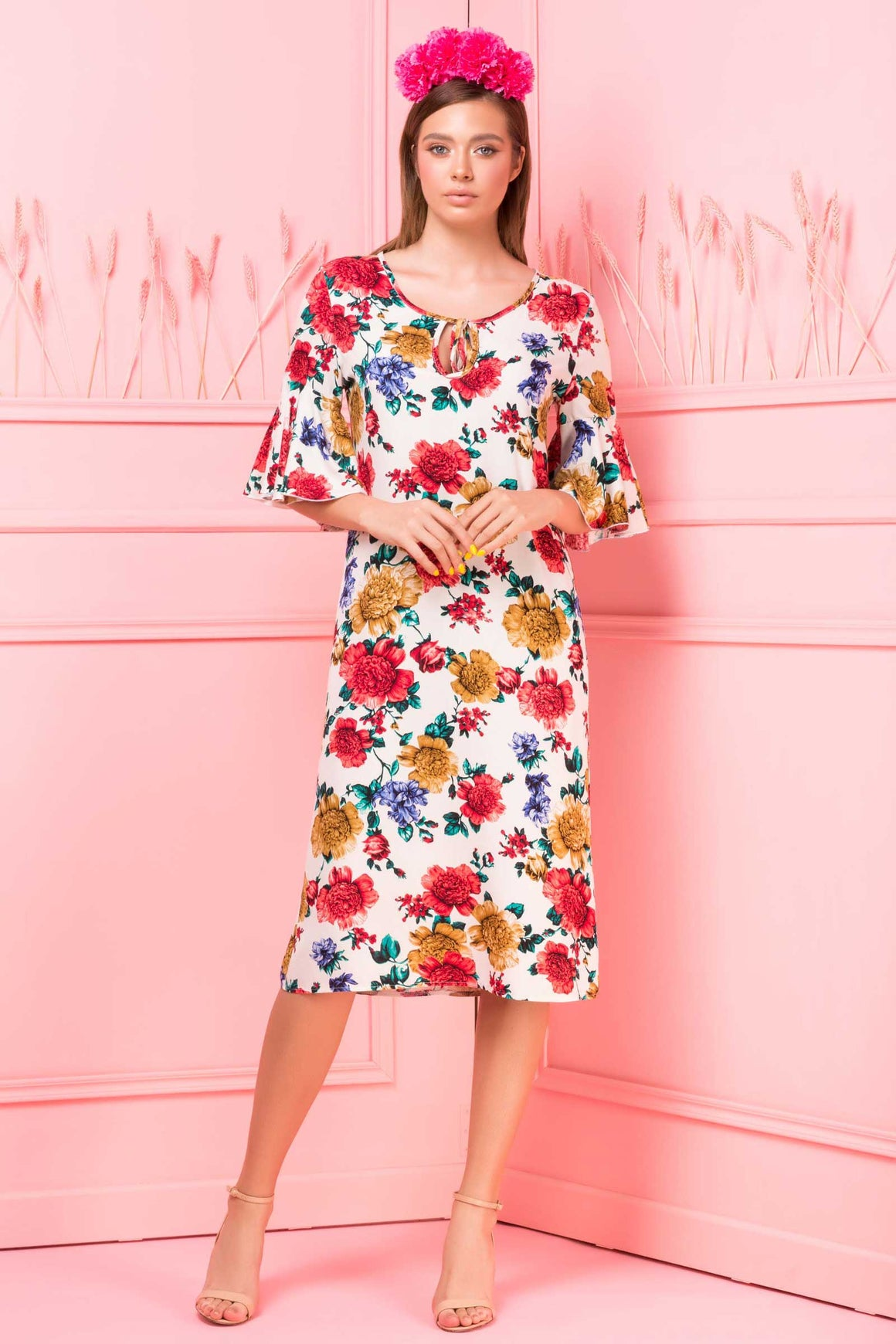 Rochie Tracy Print Imperial