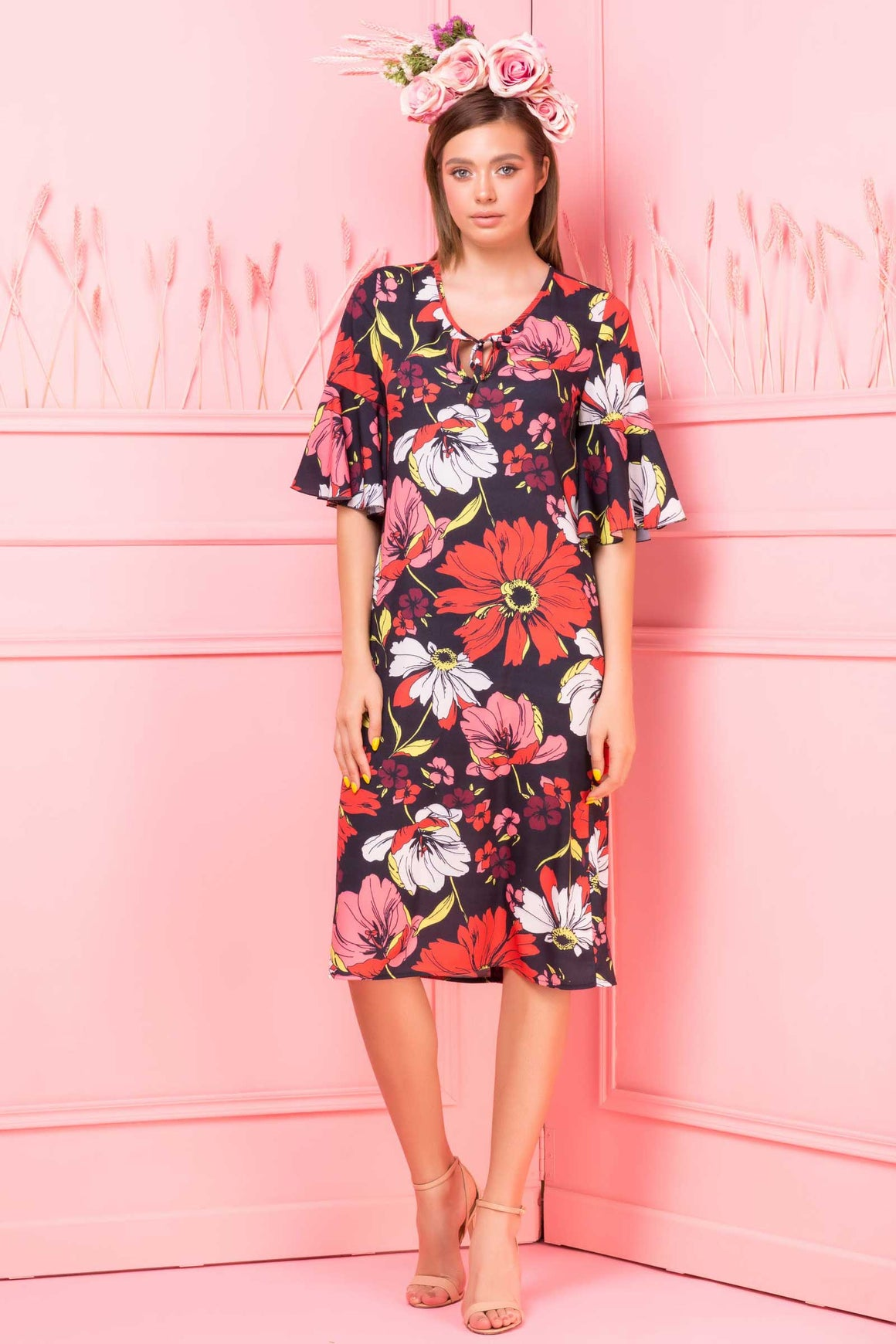 Rochie Tracy Print Coraline