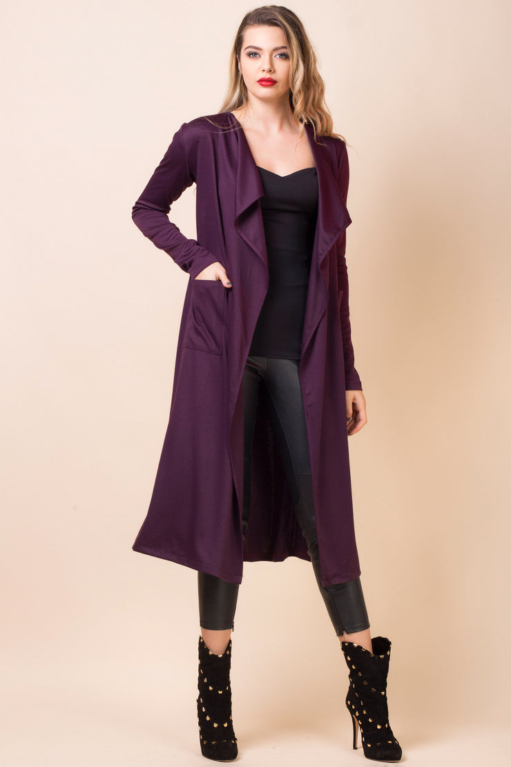 cardigan elegant lung mov