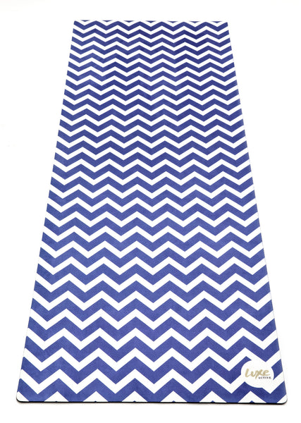 Bluebird Chevron Active Mat