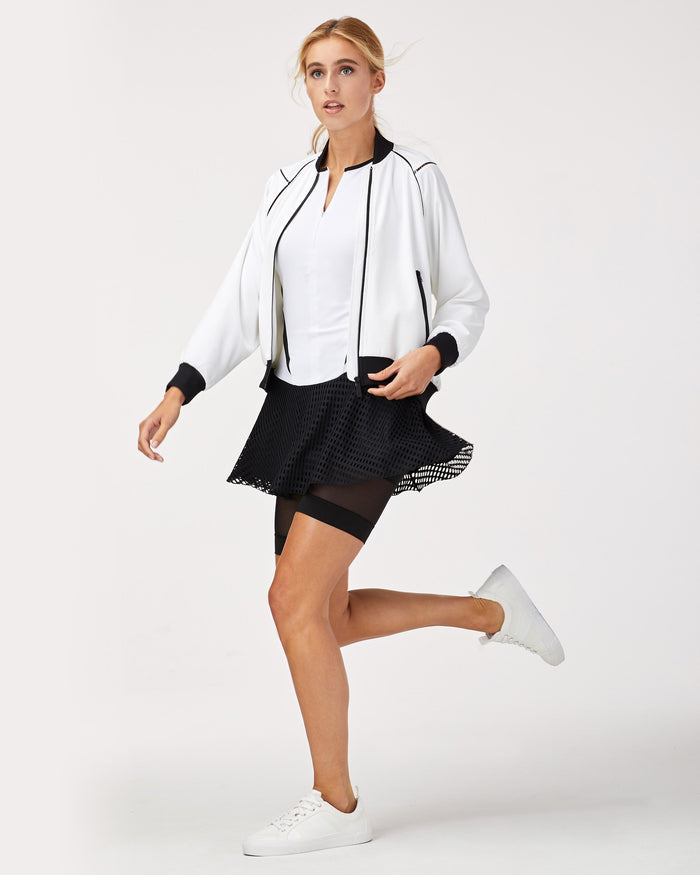 1-Love Tennis Jacket - White/Black