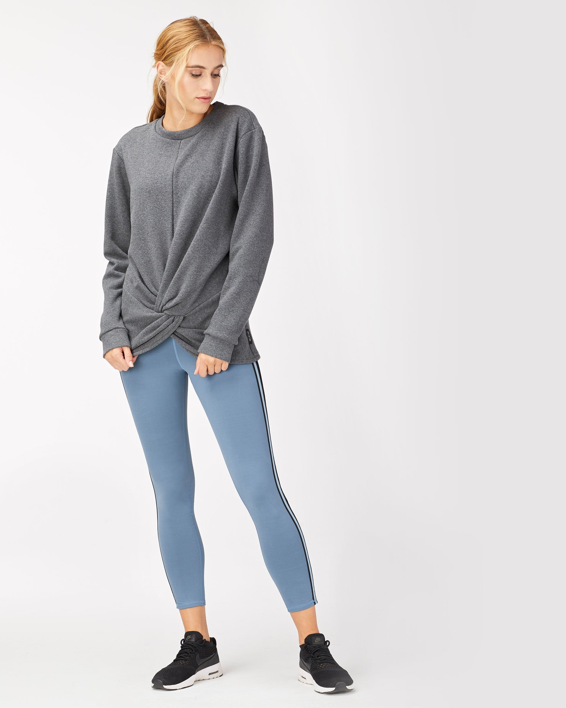 Farfalla Sweatshirt - Charcoal Grey