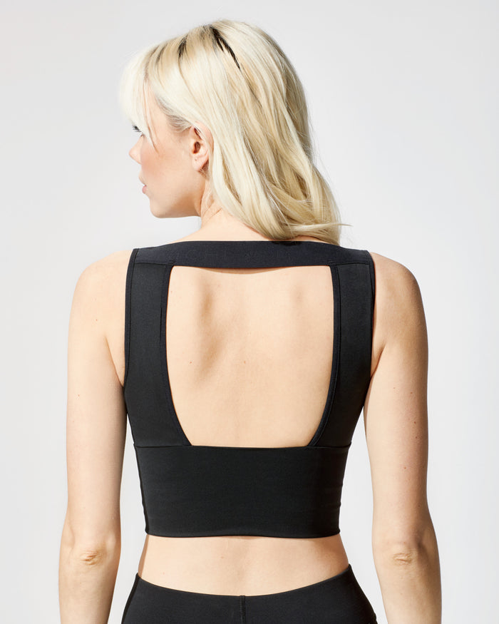 Formula Crop Top - Black