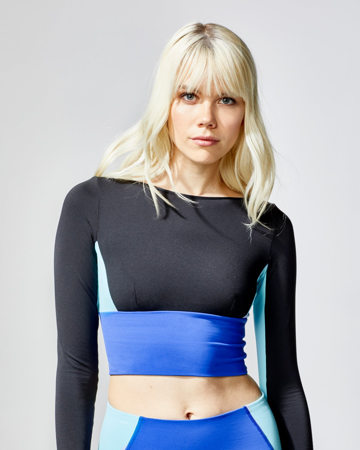 Rally Crop Top - Hydro