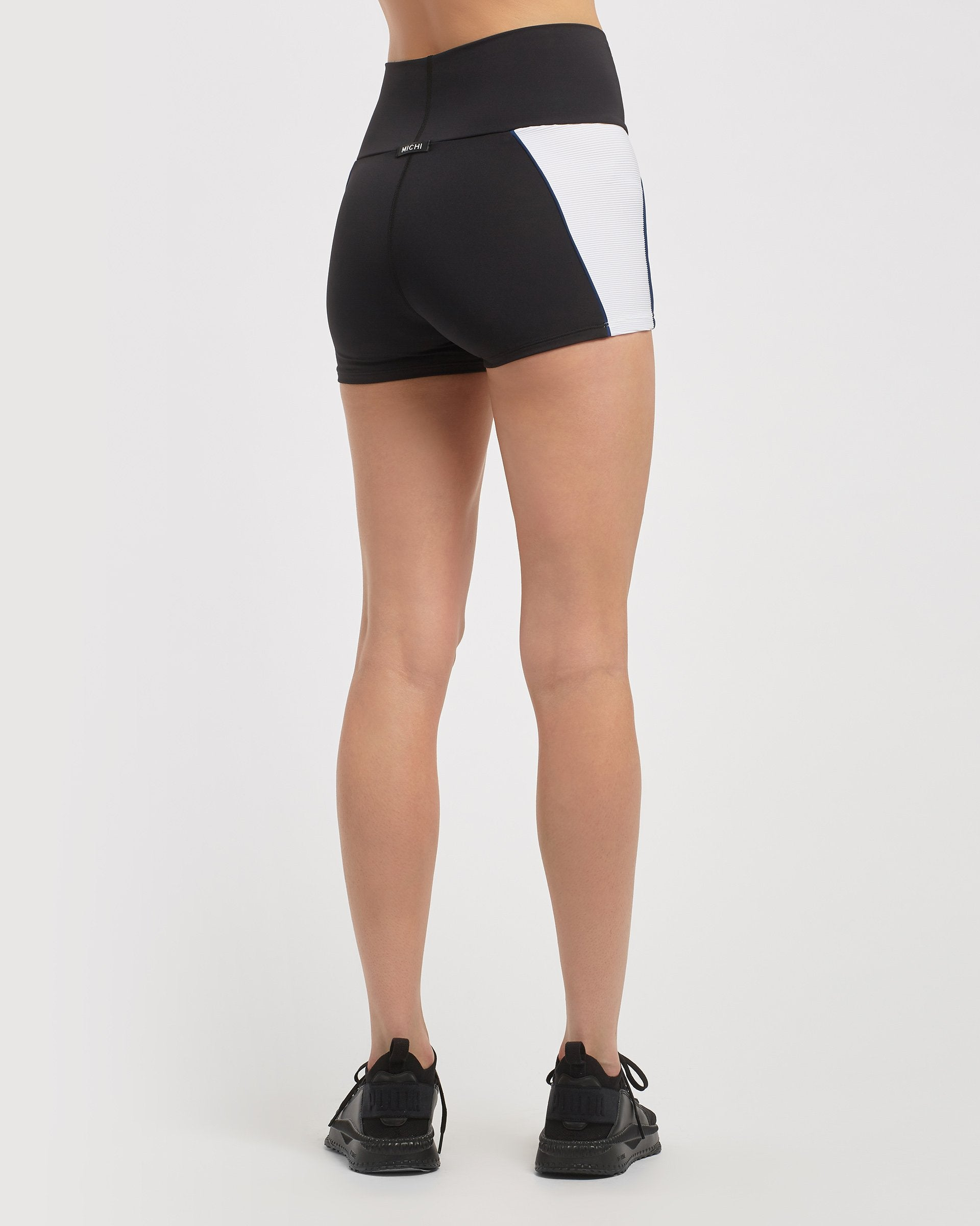 parallel-high-waisted-shorts-black-white-adriatic-blue