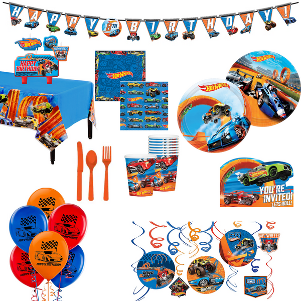 Hot Wheels Party Packs
