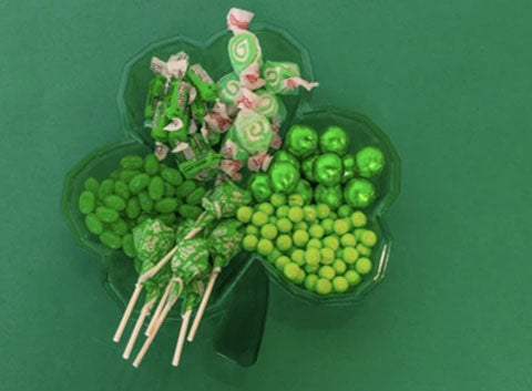Zurchers.com has a huge selection of Green Candy and gold foil wrapped coings for St.Patricks day.