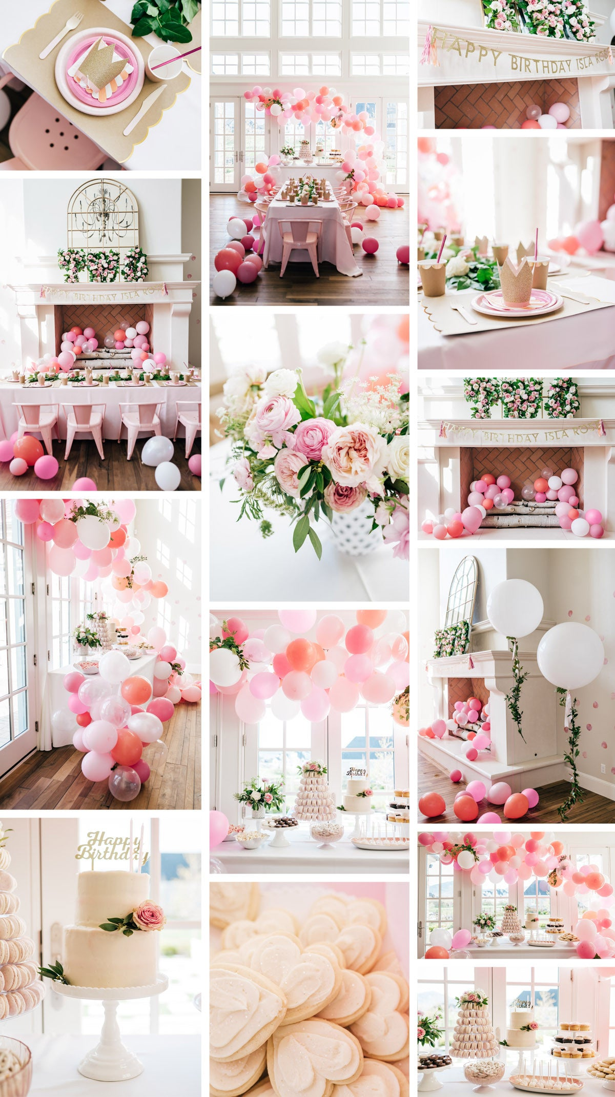 Isla Rose Turns Two by Pink Peonies